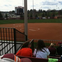 Photo taken at Tech Softball Park by Joshua G. on 3/17/2012