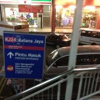 Photo taken at RapidKL Kelana Jaya (KJ24) LRT Station by Mohd N. on 4/11/2012