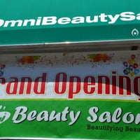Photo taken at Omni Beauty Salon by Omni Beauty Salon on 9/2/2014