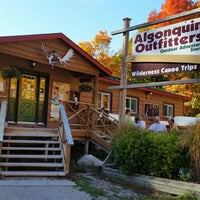 Photo taken at Algonquin Outfitters by RICHARD on 9/28/2014