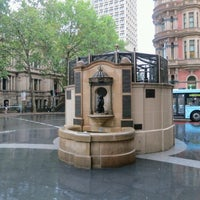 Photo taken at QVB Wishing Well by AA M. on 2/1/2013