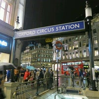 Photo taken at Oxford Circus London Underground Station by AA M. on 10/21/2012