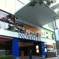 Photo taken at Novotel Bangkok Fenix Silom by Monica S. on 1/25/2013