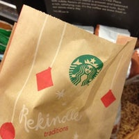 Photo taken at Starbucks by Chris R. on 11/12/2012