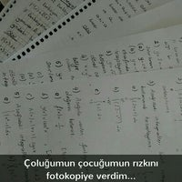 Photo taken at ÇOMÜ MMF Kantin by Beyza Nur E. on 5/23/2016