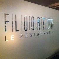Photo taken at FloorTWO Restaurant by Francesco C. on 3/5/2013