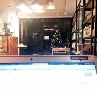 Photo taken at Book cafe 'The Story' by Bomi K. on 2/9/2014