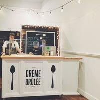 Photo taken at The Crème Brûlée Cart Shop by Nicole J. on 2/9/2015