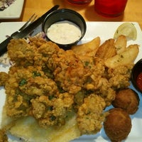 Photo taken at New Orleans Hamburger & Seafood Co. by Julie D. on 11/5/2012