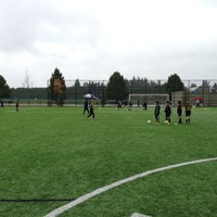 Photo taken at Newton Athletic Park by JT P. on 10/27/2012