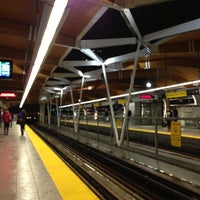 Photo taken at Brentwood Town Centre SkyTrain Station by Jeff T. on 1/9/2013