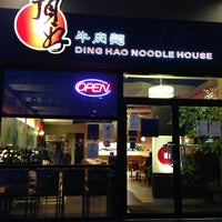 Photo taken at Ding Hao Noodle House by JT P. on 1/31/2013