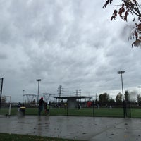 Photo taken at Newton Athletic Park by JT P. on 10/25/2014