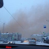 Photo taken at НТМК by Ольга О. on 1/3/2015