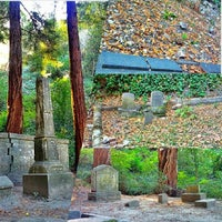 Photo taken at Evergreen Cemetery by Samantha H. on 10/6/2013