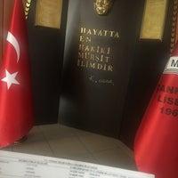 Photo taken at Çankaya Anadolu Lisesi by Nermin S. on 6/24/2018