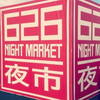Photo taken at 626 Night Market by Justin P. on 9/2/2013