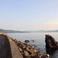 Photo taken at 越前河野しおかぜライン by たみぷる on 5/1/2015