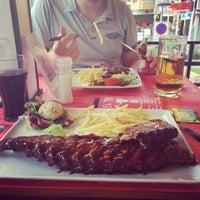 Photo taken at El Toro Steakhouse & Pizza by Anastasya P. on 9/12/2014