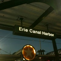 Photo taken at NFTA Metro Rail Erie Canal Harbor Station by Astoriawinediva on 7/19/2013