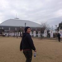 Photo taken at 宮崎市生目の杜運動公園陸上競技場 by とも on 2/7/2015