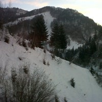 Photo taken at Cabana Valea Haiducilor by Clau on 12/23/2012