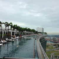 Das Foto wurde bei Rooftop Infinity Pool von Eren am 2/12/2013 aufgenommen