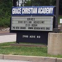 Photo taken at Grace Christian Academy by Brad G. on 8/9/2013