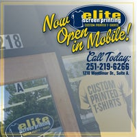 Photo taken at Elite Screen Printing by Elite Screen Printing on 9/5/2014