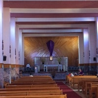 Photo taken at Templo El Oratorio by Luis B. on 4/2/2015
