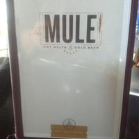 Photo taken at The Mule by Christine M. on 9/26/2012