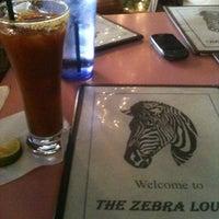 Photo taken at The Zebra Lounge by Alexandria M. on 12/22/2012