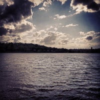 Photo taken at Chestnut Hill Reservoir by Mark N. on 5/12/2013