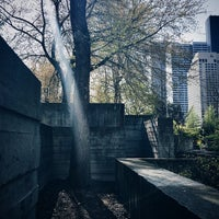 Photo taken at Freeway Park Garage by Gaile G. on 4/4/2015