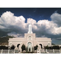 Photo taken at Mount Timpanogos Utah Temple by Amy S. on 7/19/2013