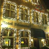 Photo taken at Prinsenhof Hotel by Shay M. on 12/19/2015