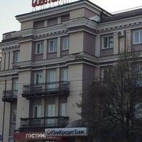 Photo taken at Soveckaya Hotel by Elena S. on 4/11/2016