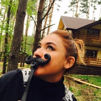 """Photo taken at Кафе """"Донской Лес"""" by Elena S. on 5/3/2016"""