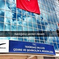 Photo taken at Tekirdağ İl Çevre ve Şehircilik Müdürlüğü by Cemil İ. on 7/19/2016
