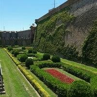 Photo taken at Castillo de Montjuic by Roberta S. on 6/2/2013