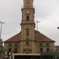 Photo taken at Hugenottenkirche by Roberta S. on 12/8/2013