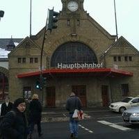 Das Foto wurde bei Bahnhof Eisenach von Roberta S. am 1/27/2013 aufgenommen