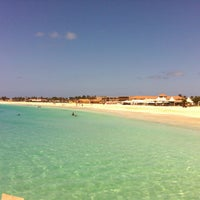 Photo taken at Melia Tortuga Beach by Stephen D. on 4/11/2013