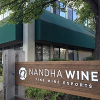 "Photo taken at Nandha Wines: ""Fine Wine Exports."" by Rory L. on 10/9/2012"