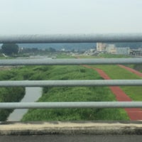 Photo taken at メルヘン大橋 by 222 on 8/16/2015