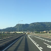 Photo taken at メルヘン大橋 by 222 on 5/1/2015