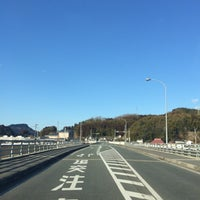 Photo taken at メルヘン大橋 by 222 on 2/1/2015