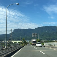 Photo taken at メルヘン大橋 by 222 on 6/17/2016