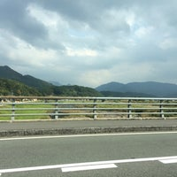 Photo taken at メルヘン大橋 by 222 on 10/26/2014