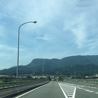 Photo taken at メルヘン大橋 by 222 on 7/15/2017